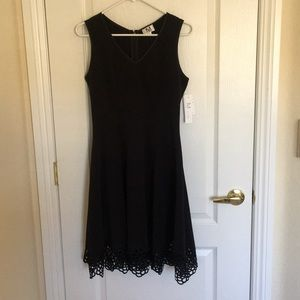 M by Maia black dress with cutout trim